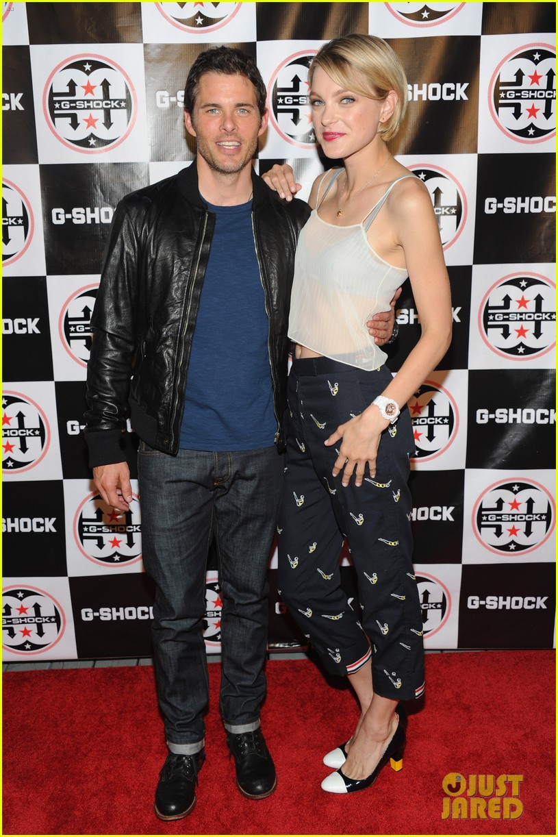 james marsden jessica stam g shock shock the world party 022925863