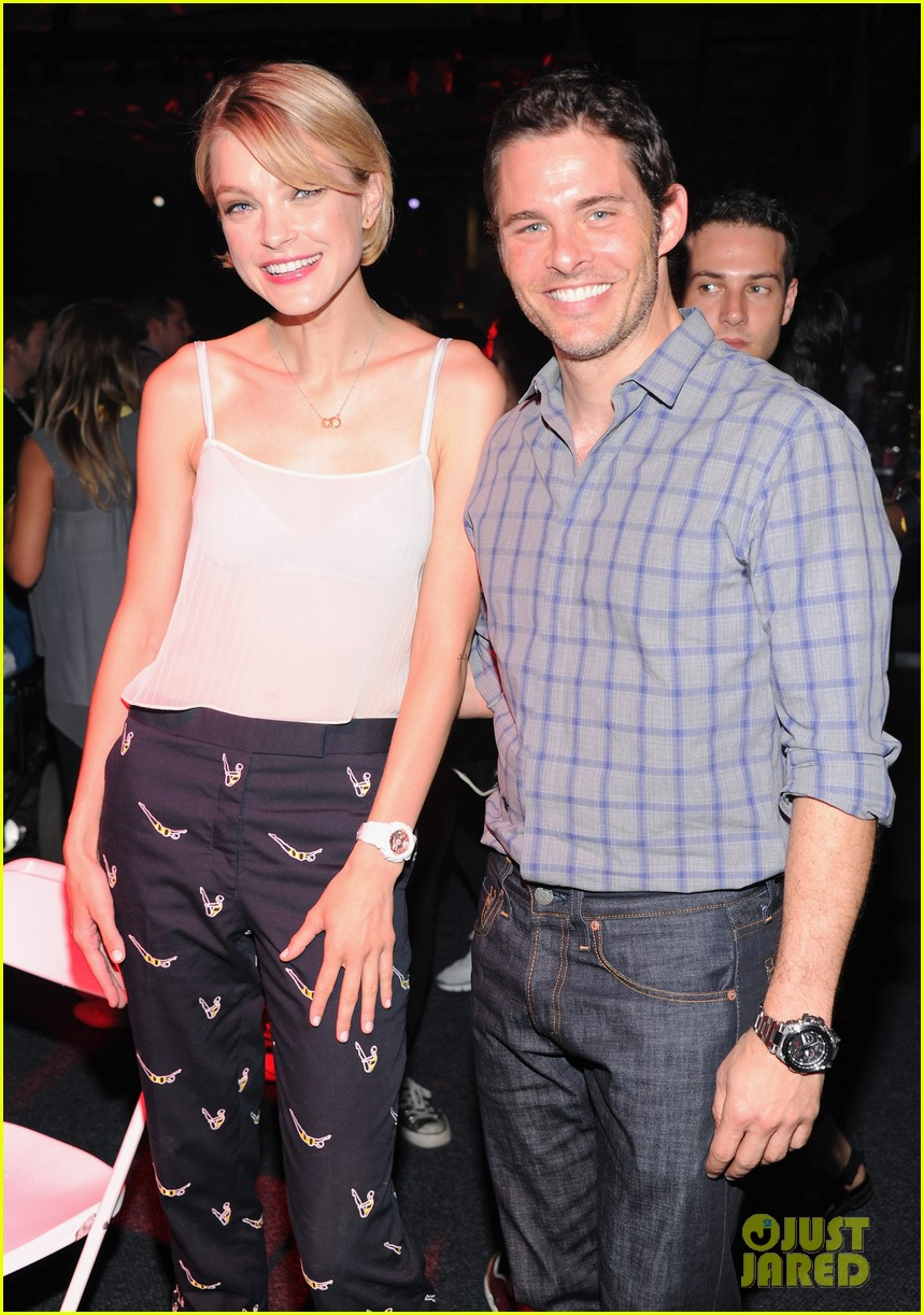 james marsden jessica stam g shock shock the world party 092925870