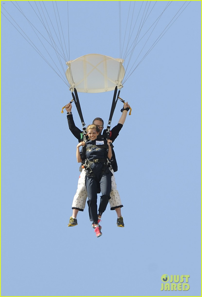 annalynne mccord josh henderson skydiving for a cause 10