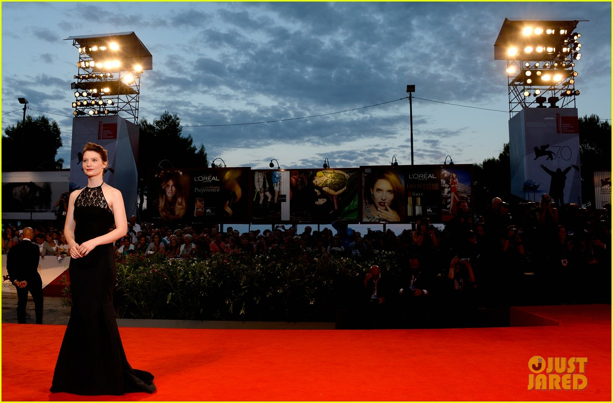 mia wasikowska tracks venice film festival premiere 08