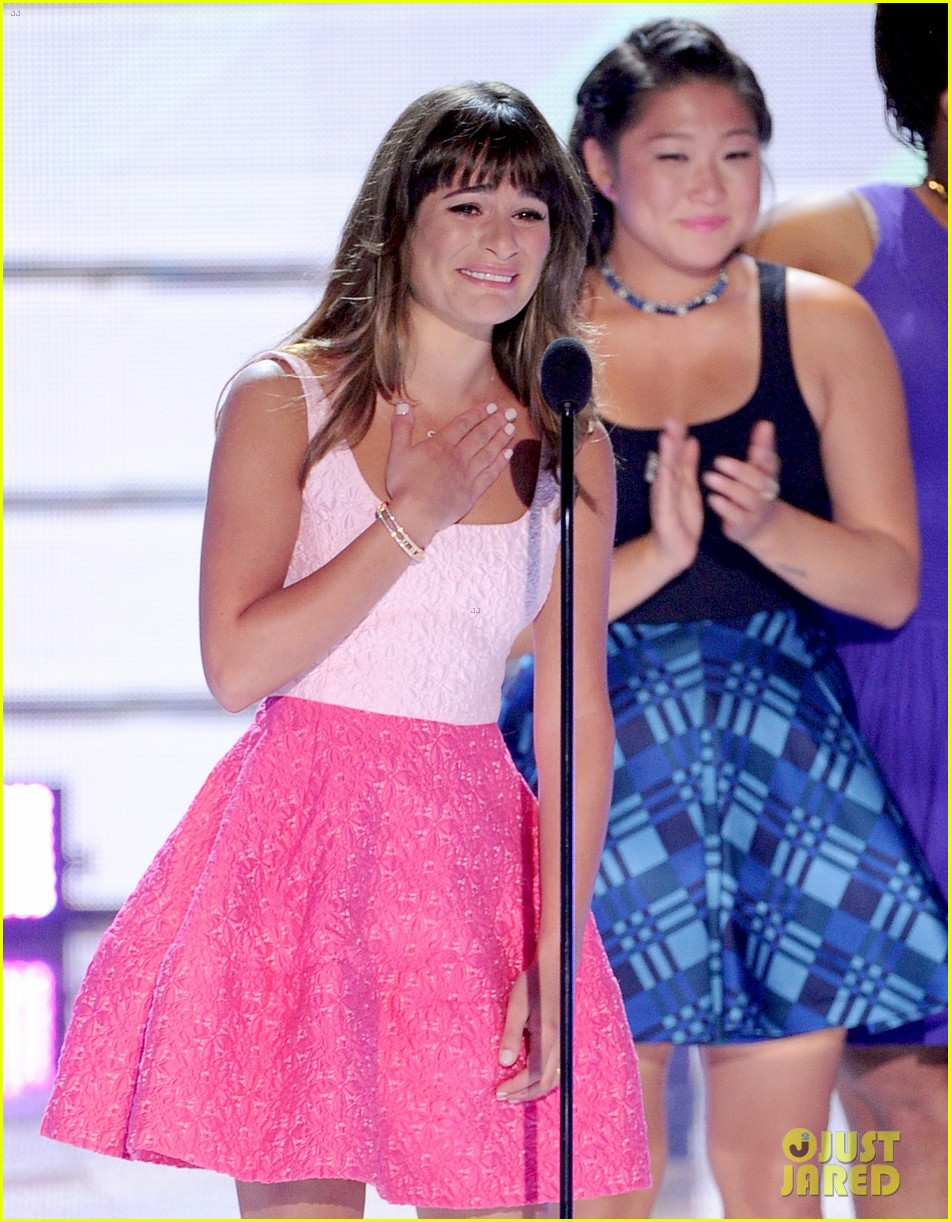 Lea Michele: Teen Choice Awards Speech Video - Watch Now