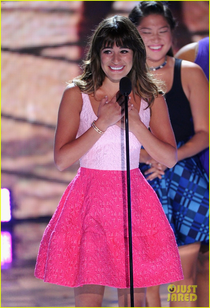 lea michele teen choice awards speech video watch now 072928276