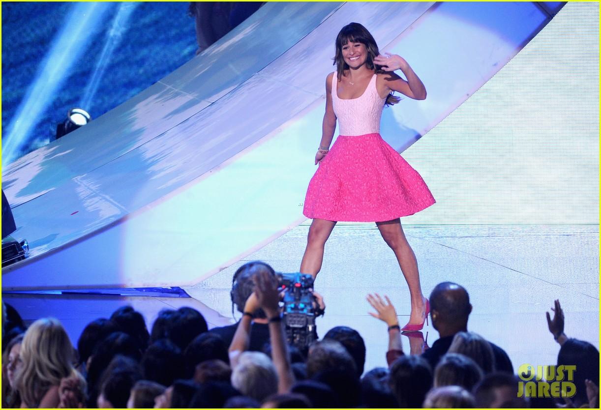 lea michele teen choice awards speech video watch now 08