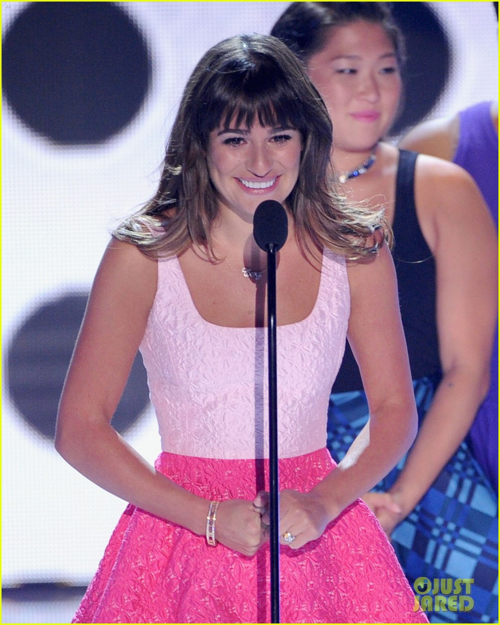 lea michele teen choice awards speech video watch now 142928283