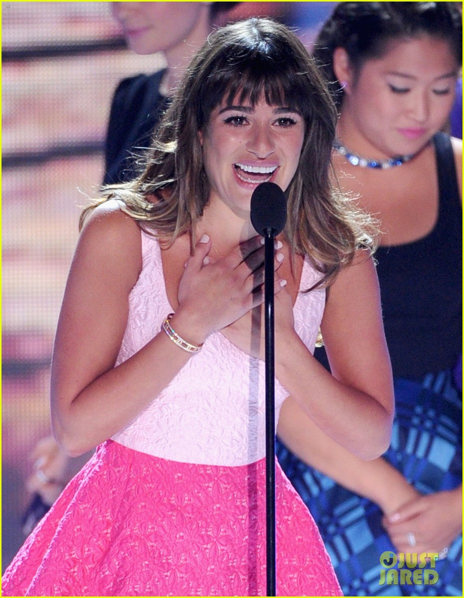 lea michele teen choice awards speech video watch now 152928284