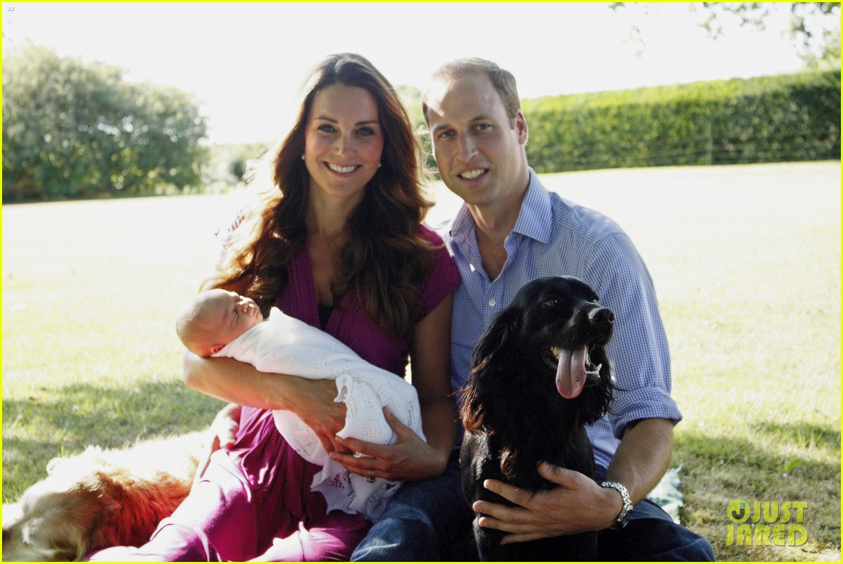 kate middleton prince william family portrait with george 012933730