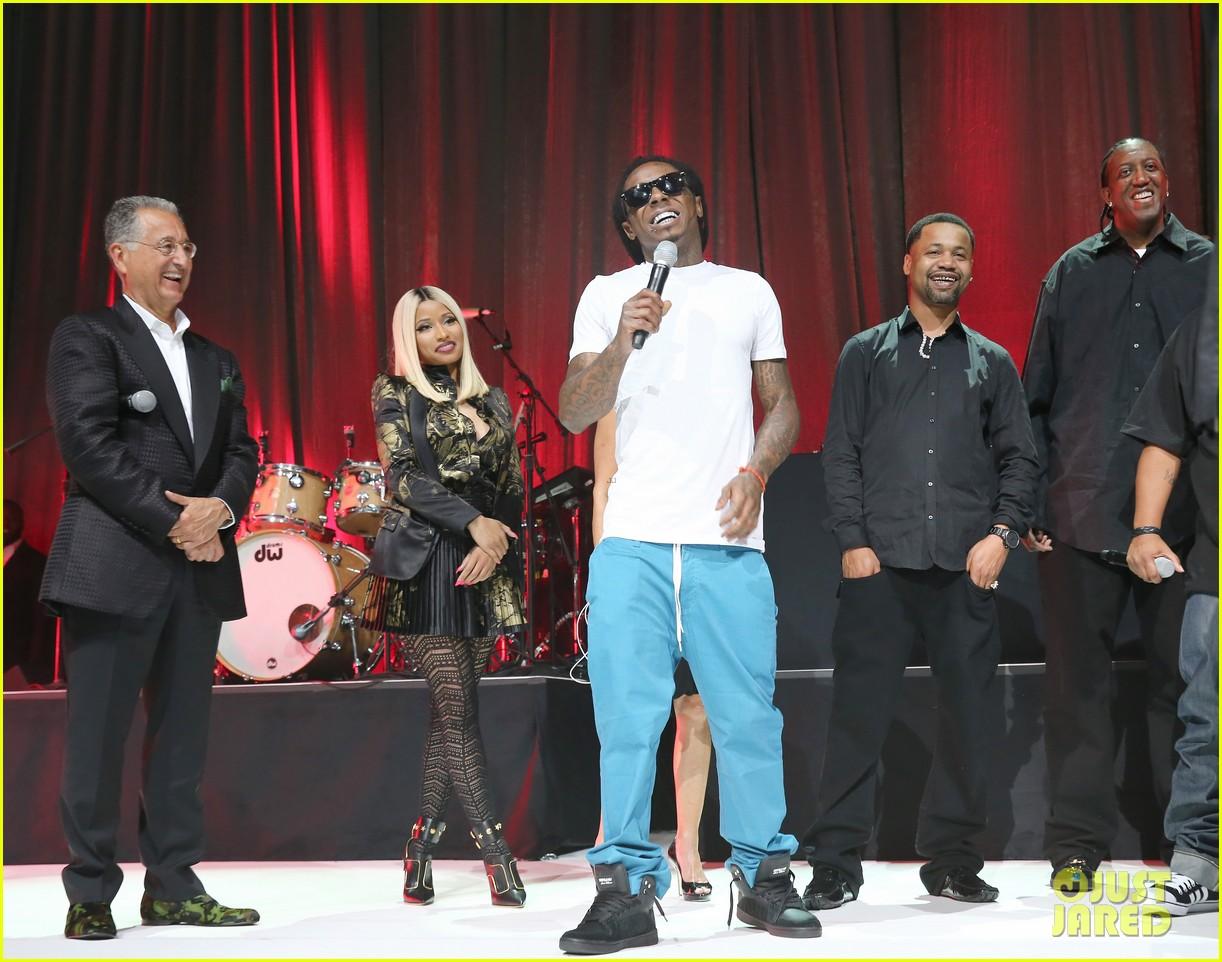nicki minaj lil wayne bmi rbhip hop awards 2013 012935992