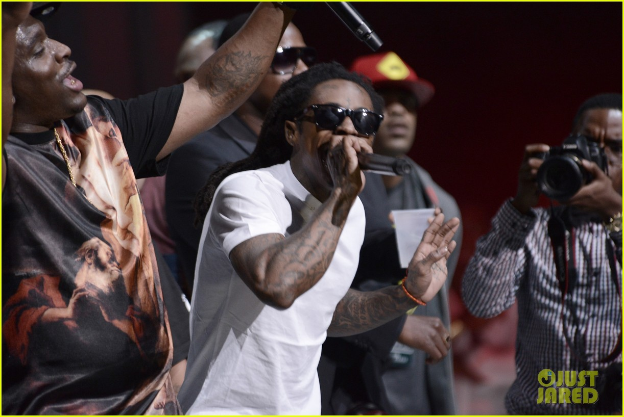 nicki minaj lil wayne bmi rbhip hop awards 2013 08