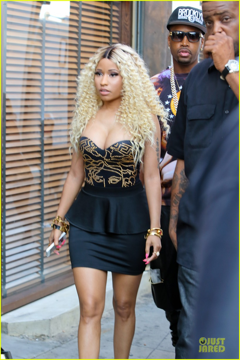 nicki minaj chris brown love more music video shoot 06