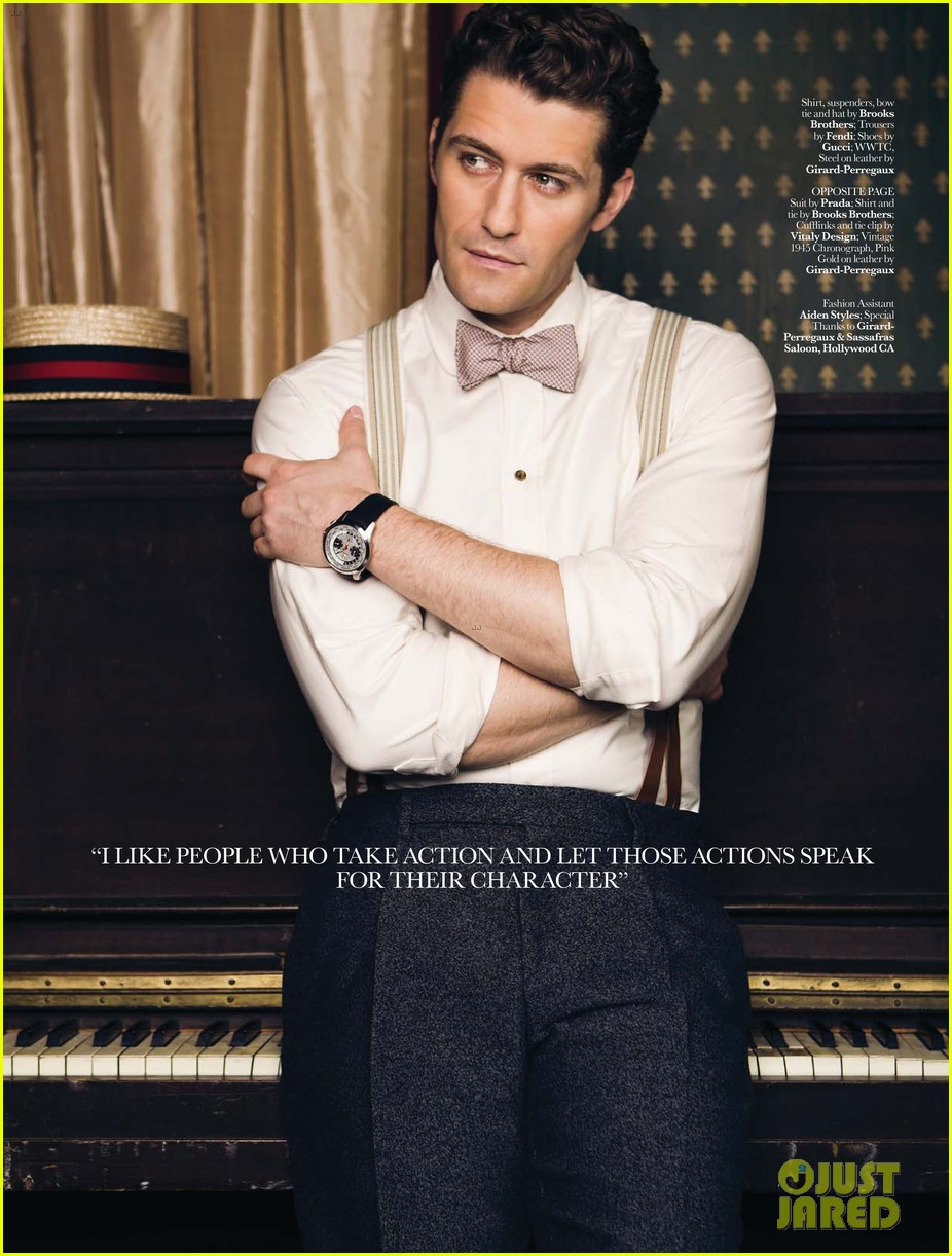matthew morrison covers august man movement august 2013 012927195