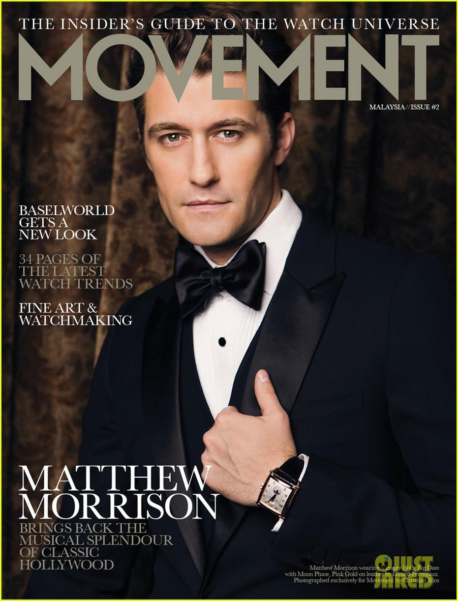 matthew morrison covers august man movement august 2013 052927199