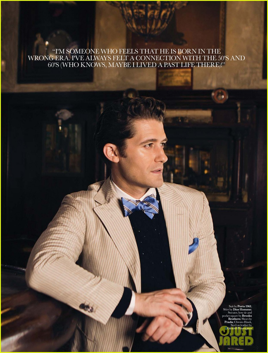 matthew morrison covers august man movement august 2013 062927200