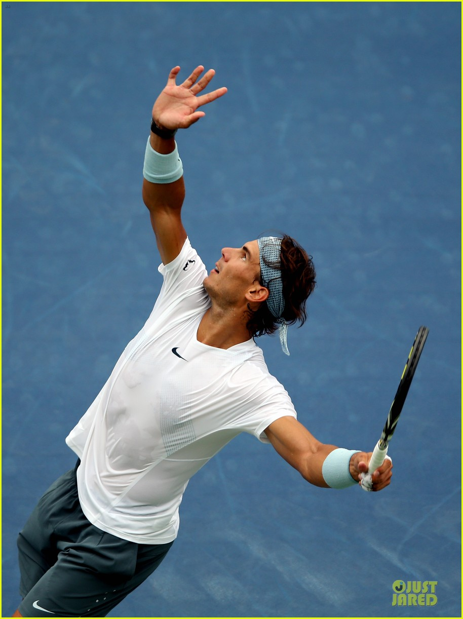 rafael nadal shirtless first round win at the us open 072938660