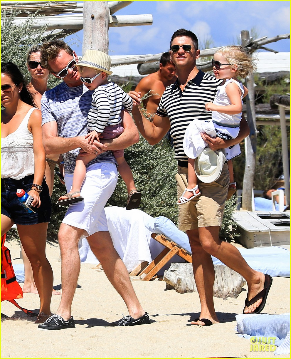 neil patrick harris shirtless vacation with david burtka twins 012926829