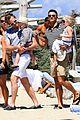 neil patrick harris shirtless vacation with david burtka twins 01