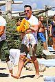 neil patrick harris shirtless vacation with david burtka twins 05