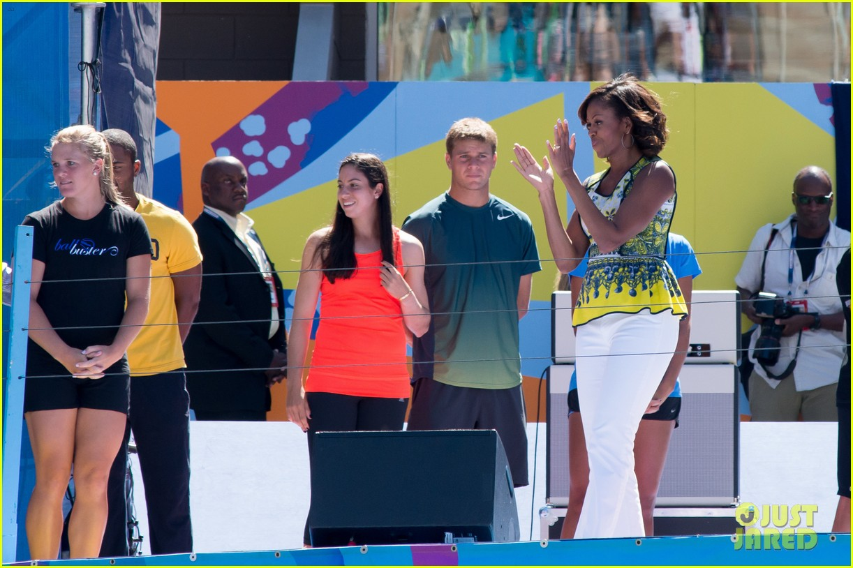 michelle obama ariana grande arthur ashe kids day 2013 262937079