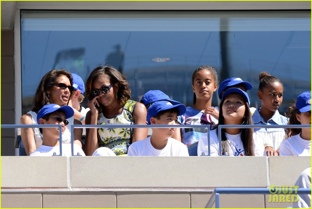 michelle obama ariana grande arthur ashe kids day 2013 292937082