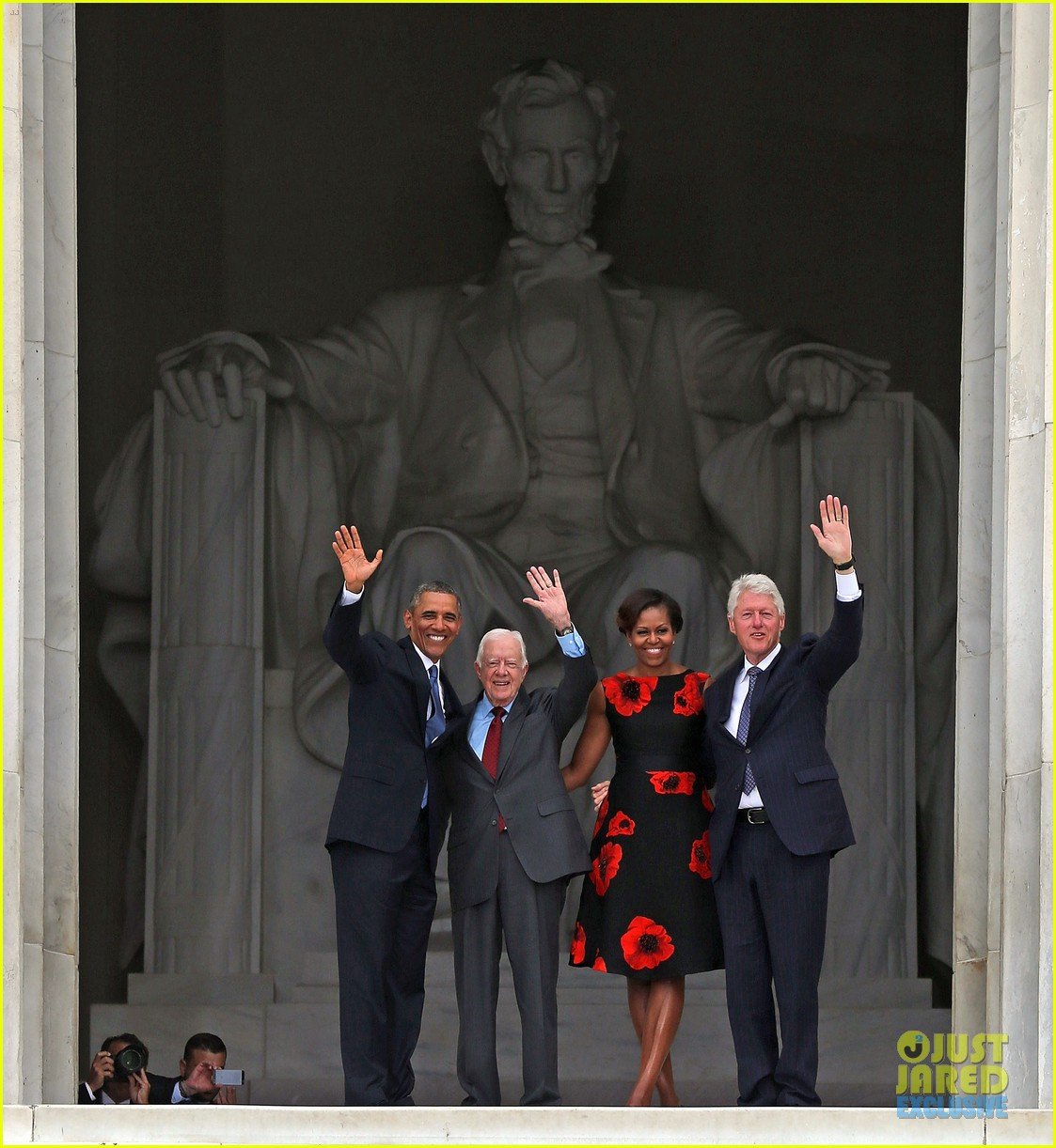 barack michelle obama mark 50 years of i have a dream 012939855