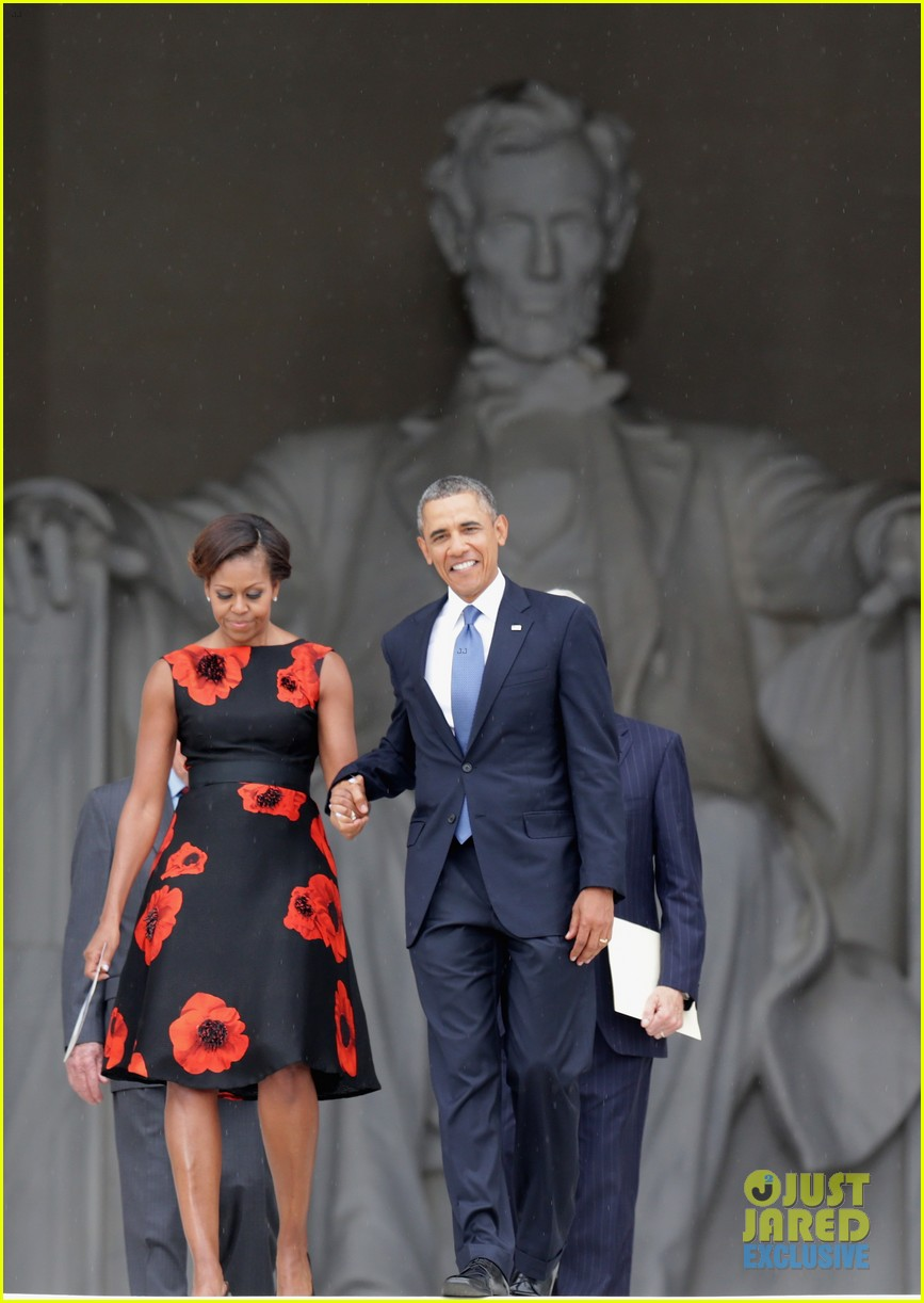 barack michelle obama mark 50 years of i have a dream 022939856