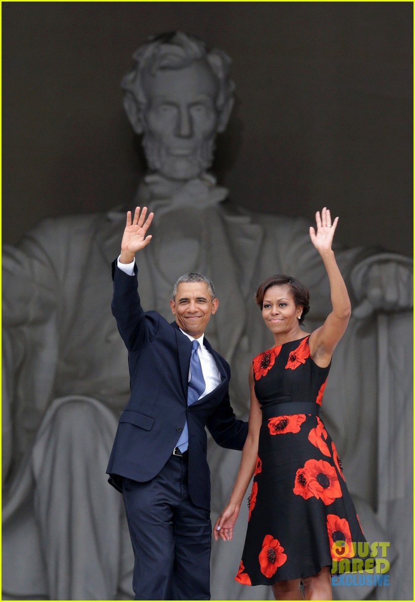 barack michelle obama mark 50 years of i have a dream 052939859