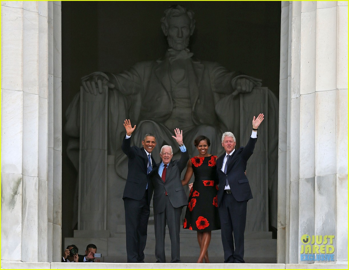 barack michelle obama mark 50 years of i have a dream 112939865
