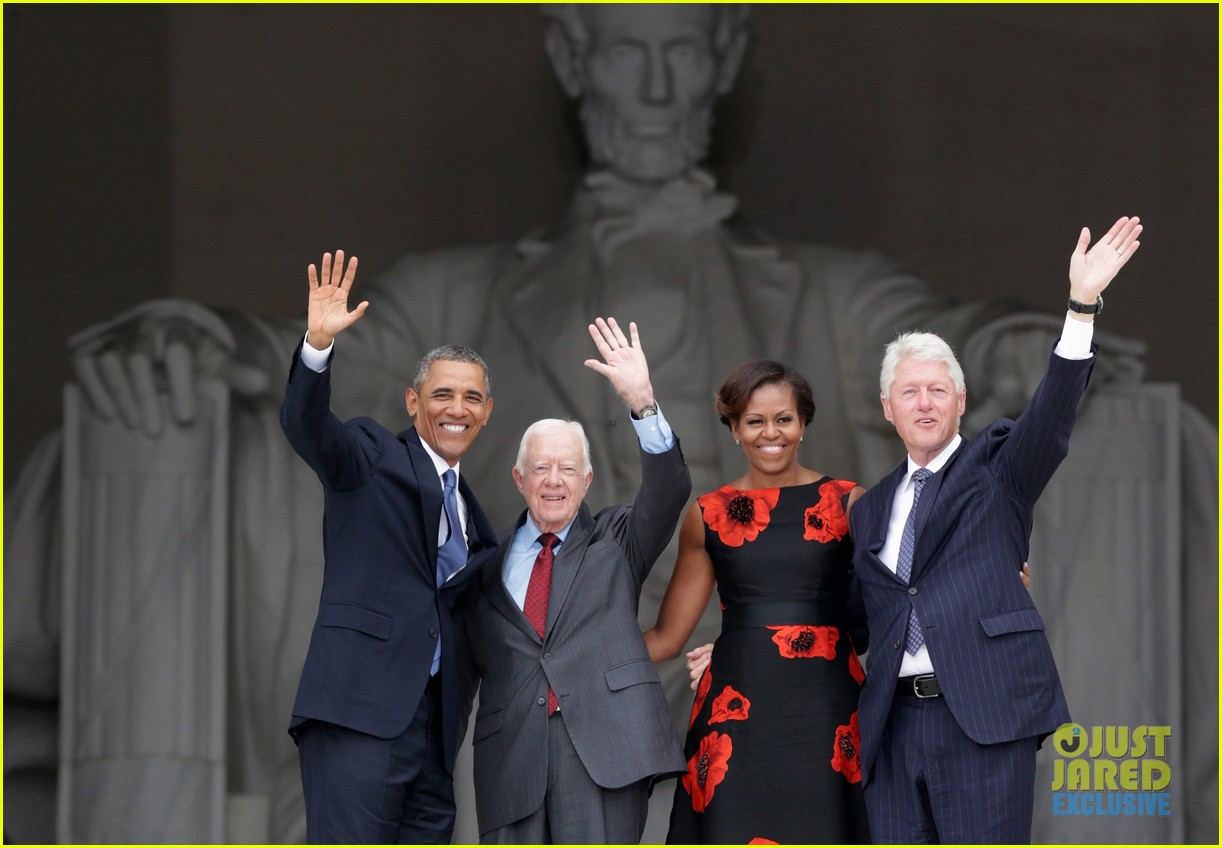 barack michelle obama mark 50 years of i have a dream 162939870