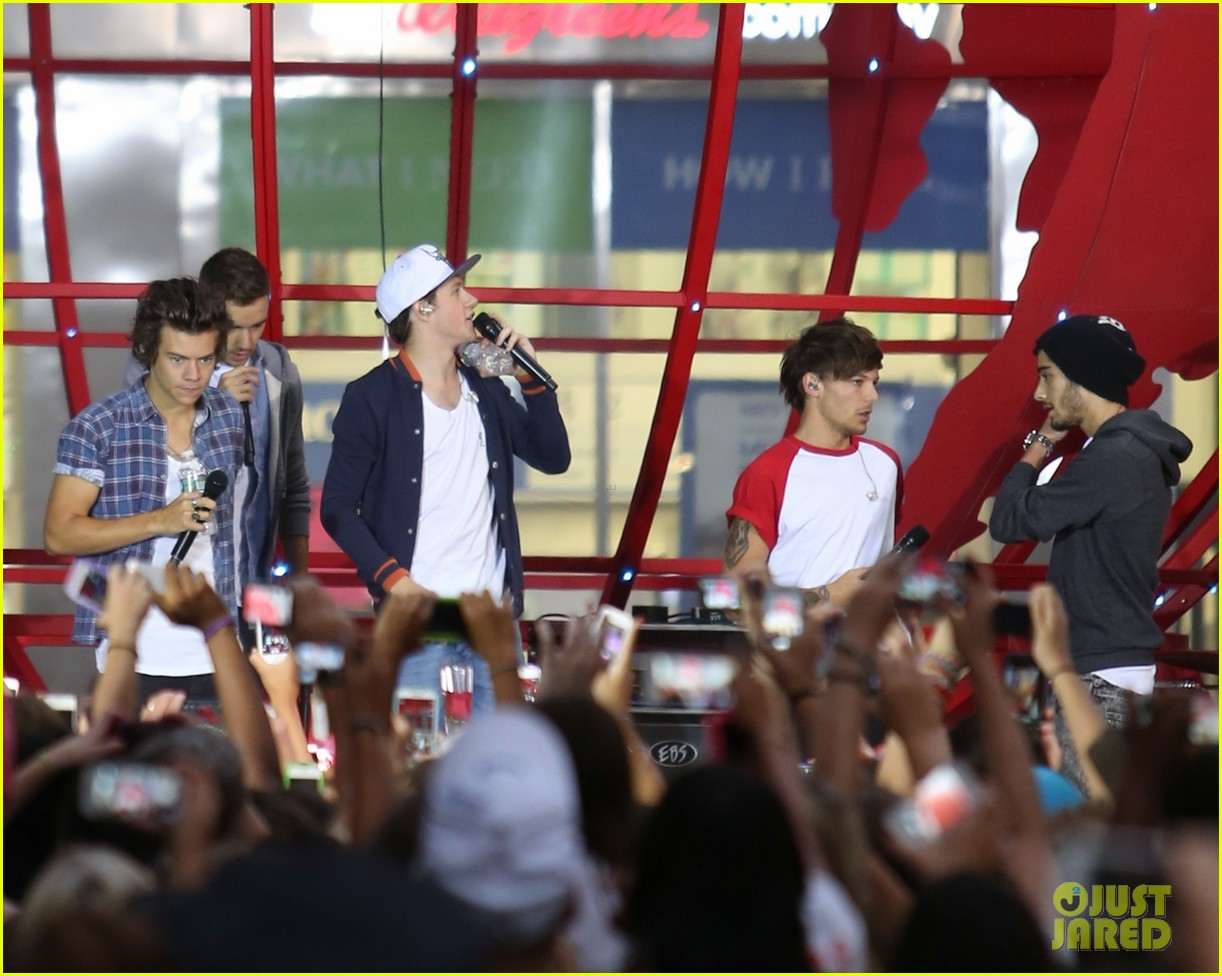 one direction today show concert series watch now 012936117