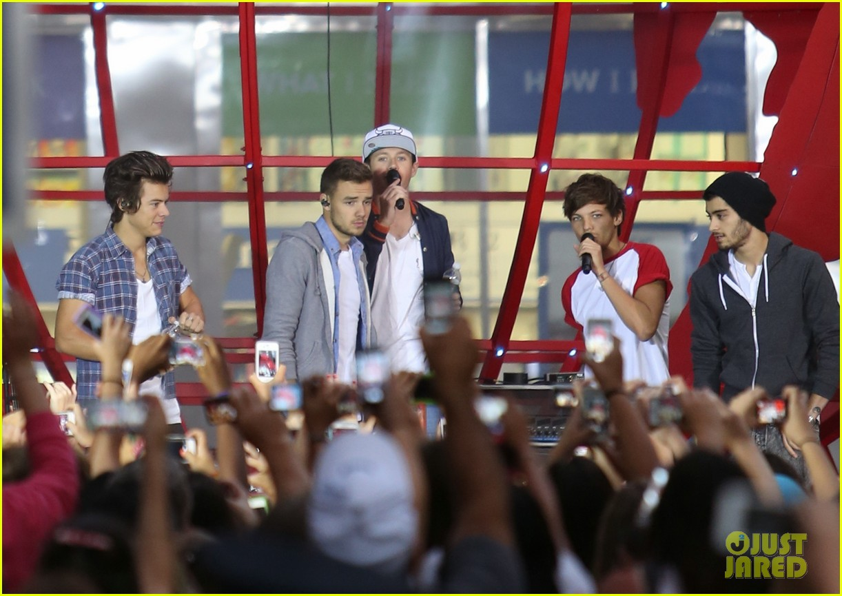 one direction today show concert series watch now 072936123