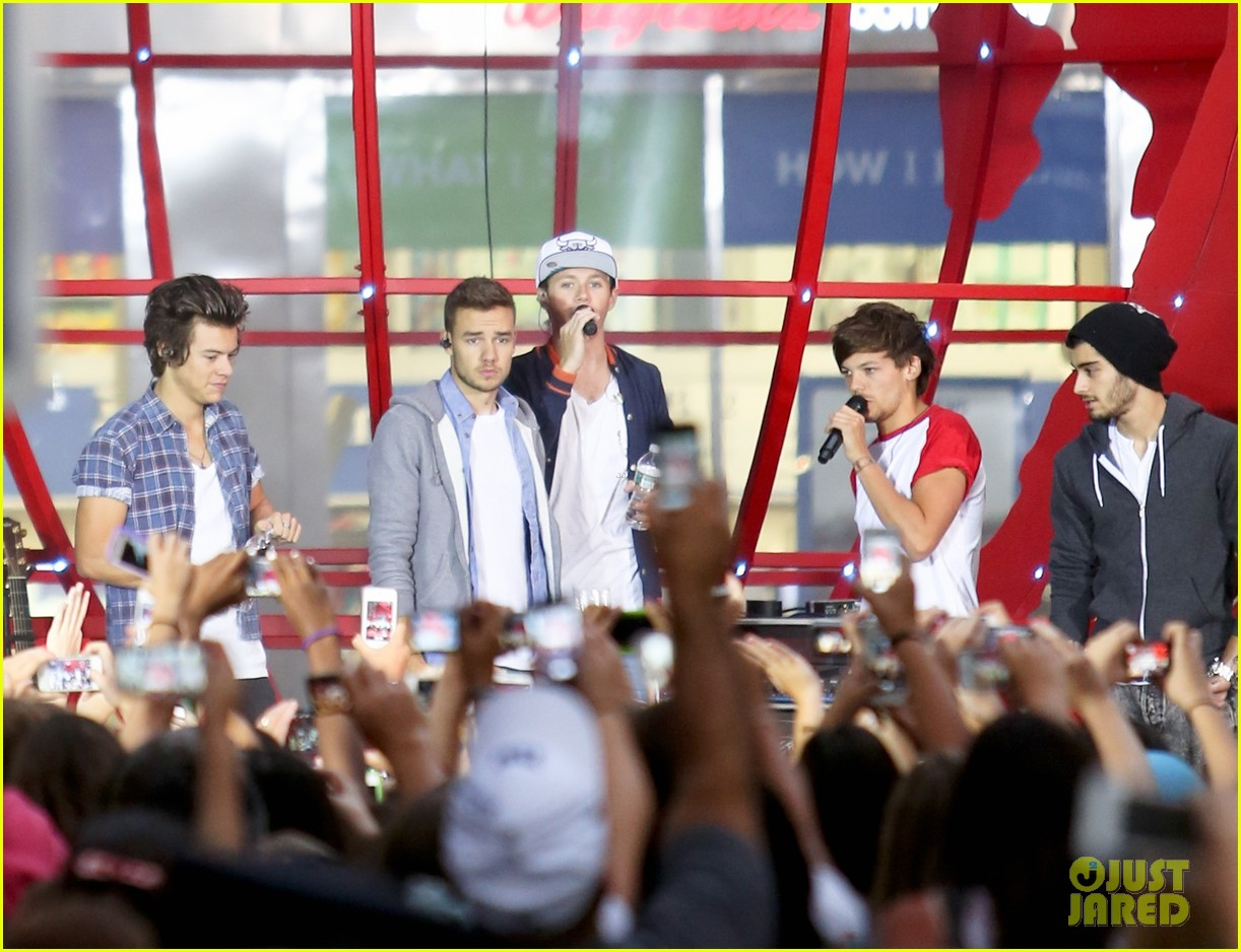 one direction today show concert series watch now 082936124