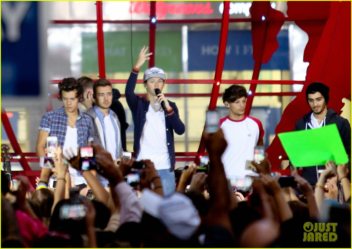 one direction today show concert series watch now 13