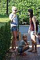 gwyneth paltrow apple moped to coffee shop 13