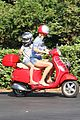 gwyneth paltrow apple moped to coffee shop 18