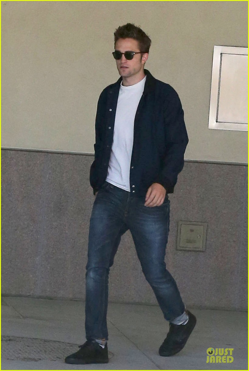 robert pattinson cool office building exit 09
