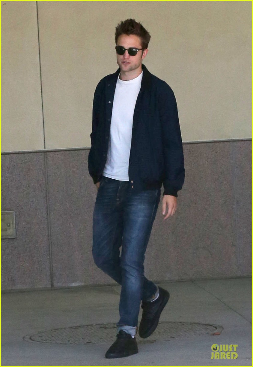 robert pattinson cool office building exit 11