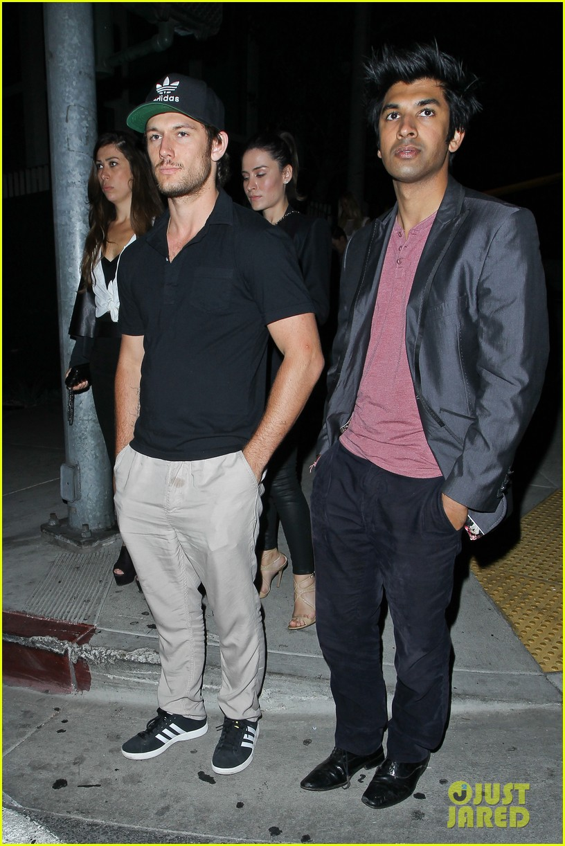 alex pettyfer parties at bootsy bellows joins instagram 042938363
