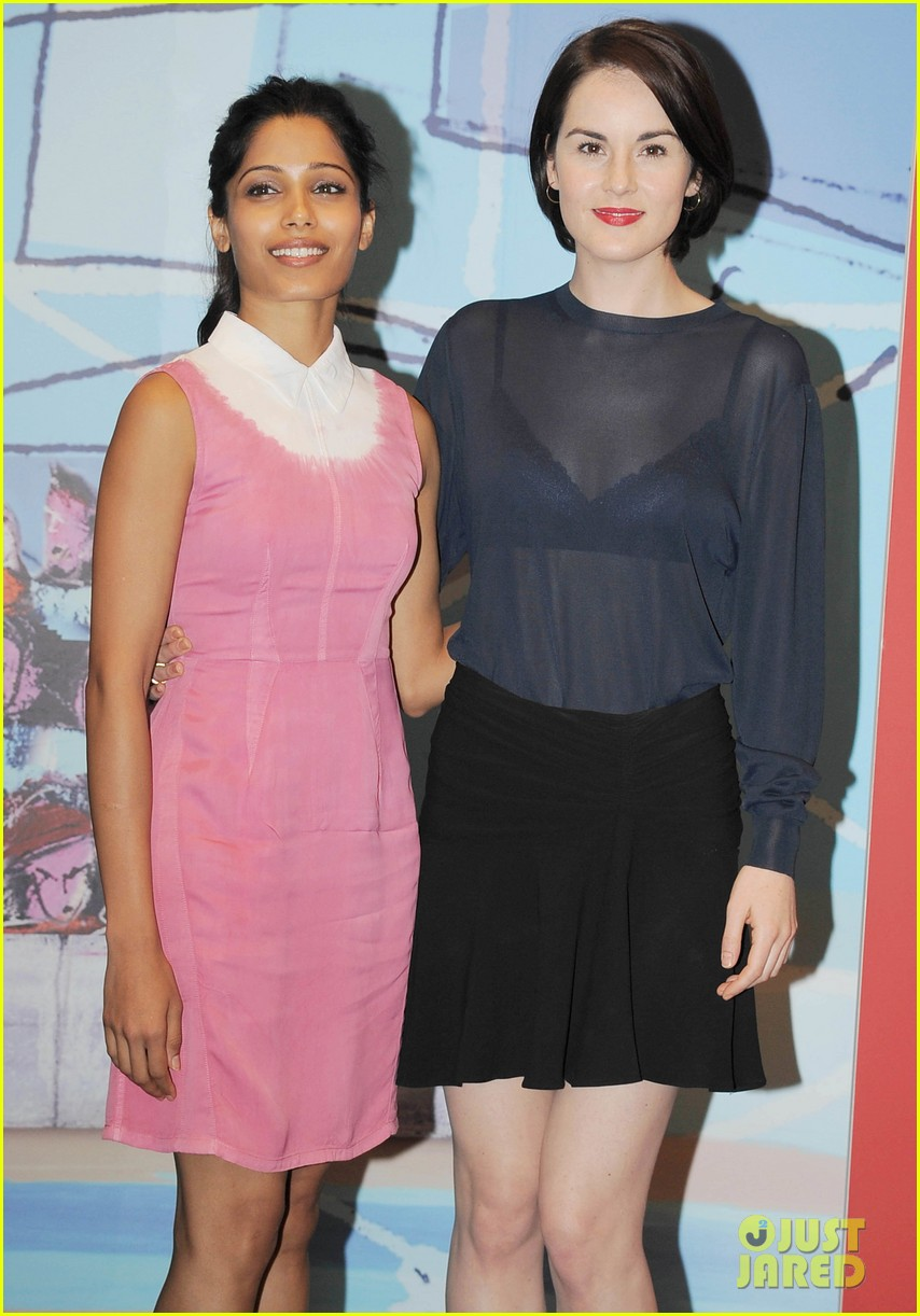 frieda pinto michelle dockery miu mius womens tales talks 022941151