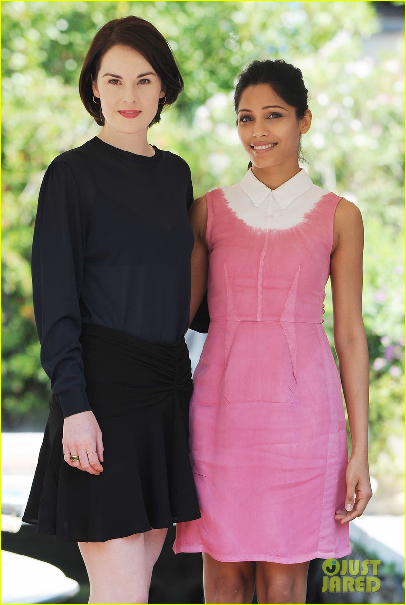 frieda pinto michelle dockery miu mius womens tales talks 15
