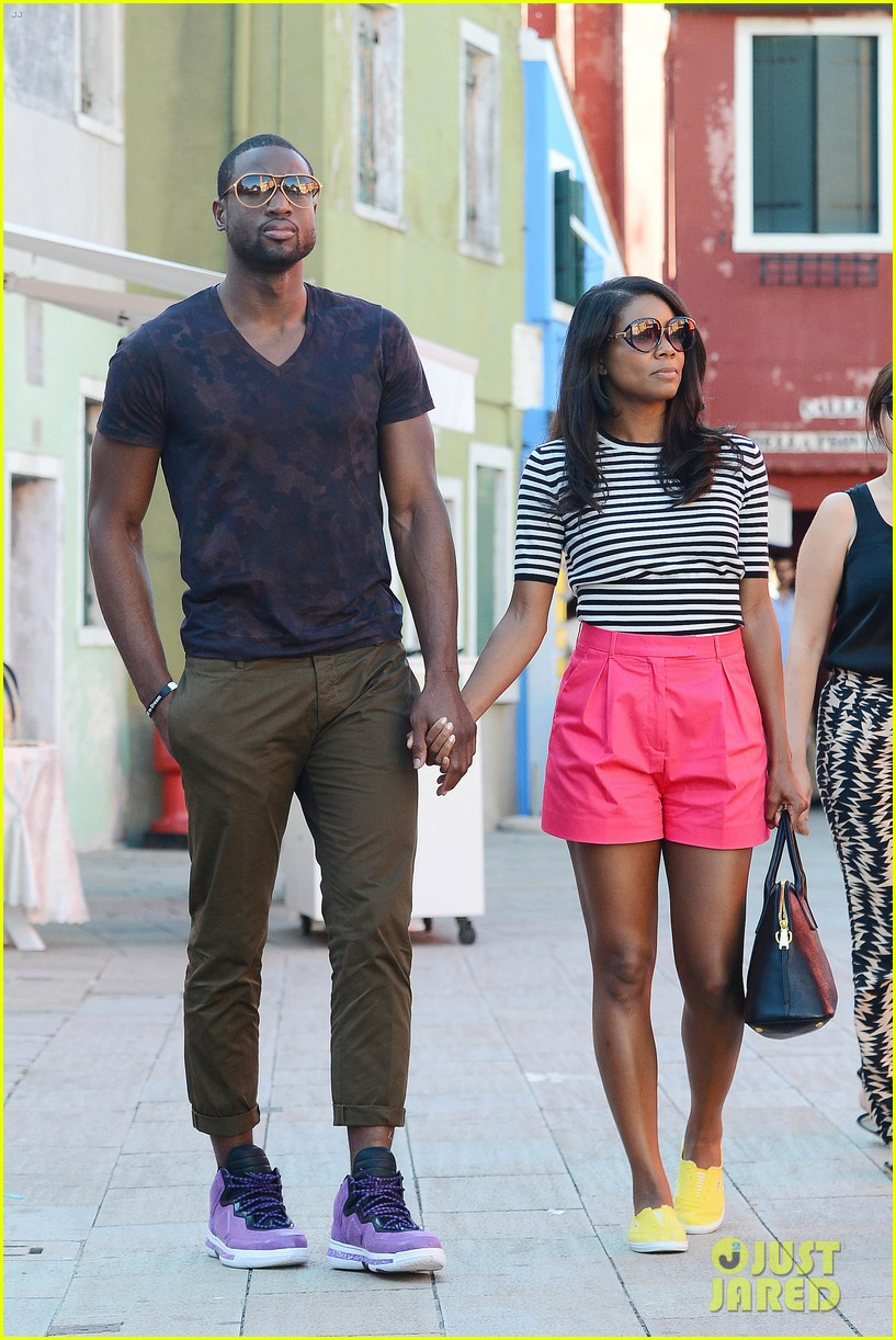 freida pinto venice sightseeing with gabrielle union dwyane wade 052941060
