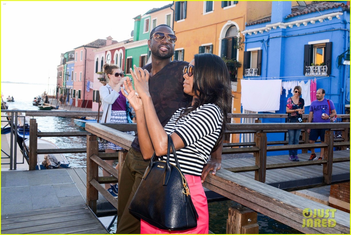 freida pinto venice sightseeing with gabrielle union dwyane wade 182941073