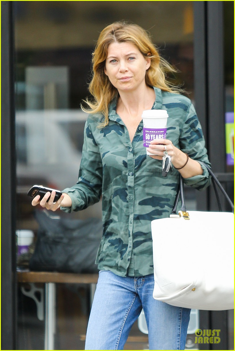 Ellen Pompeo Shonda Rimes Talks Greys Anatomy Season 10 Photo