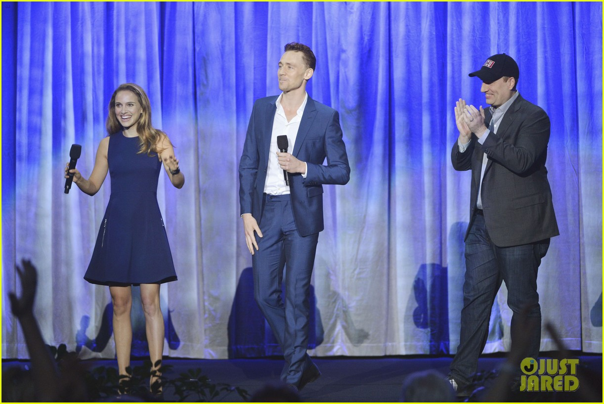 natalie portman tom hiddleston thor at disney d23 expo 092927264