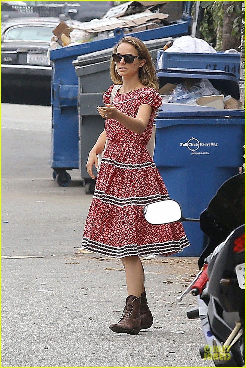 natalie portman benjamin millepied venice lunch with aleph 152931973