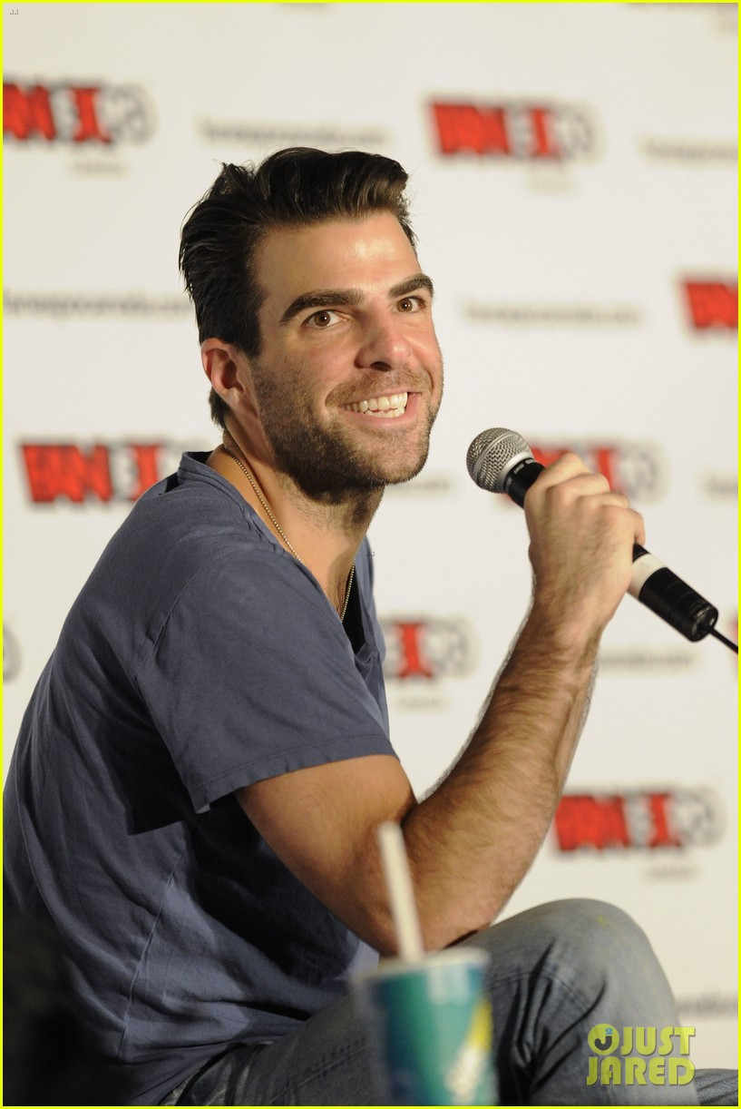 zachary quinto julie benz fan expo canada 082937139