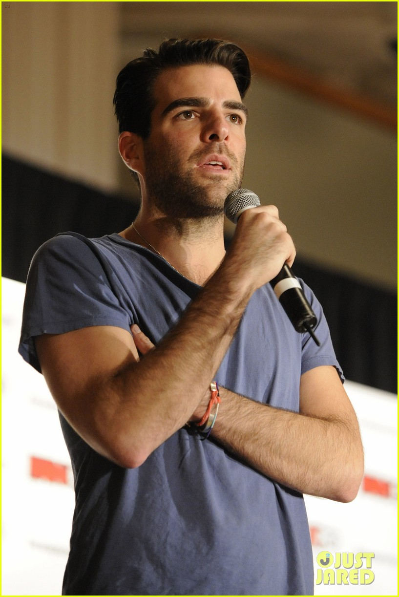 zachary quinto julie benz fan expo canada 13