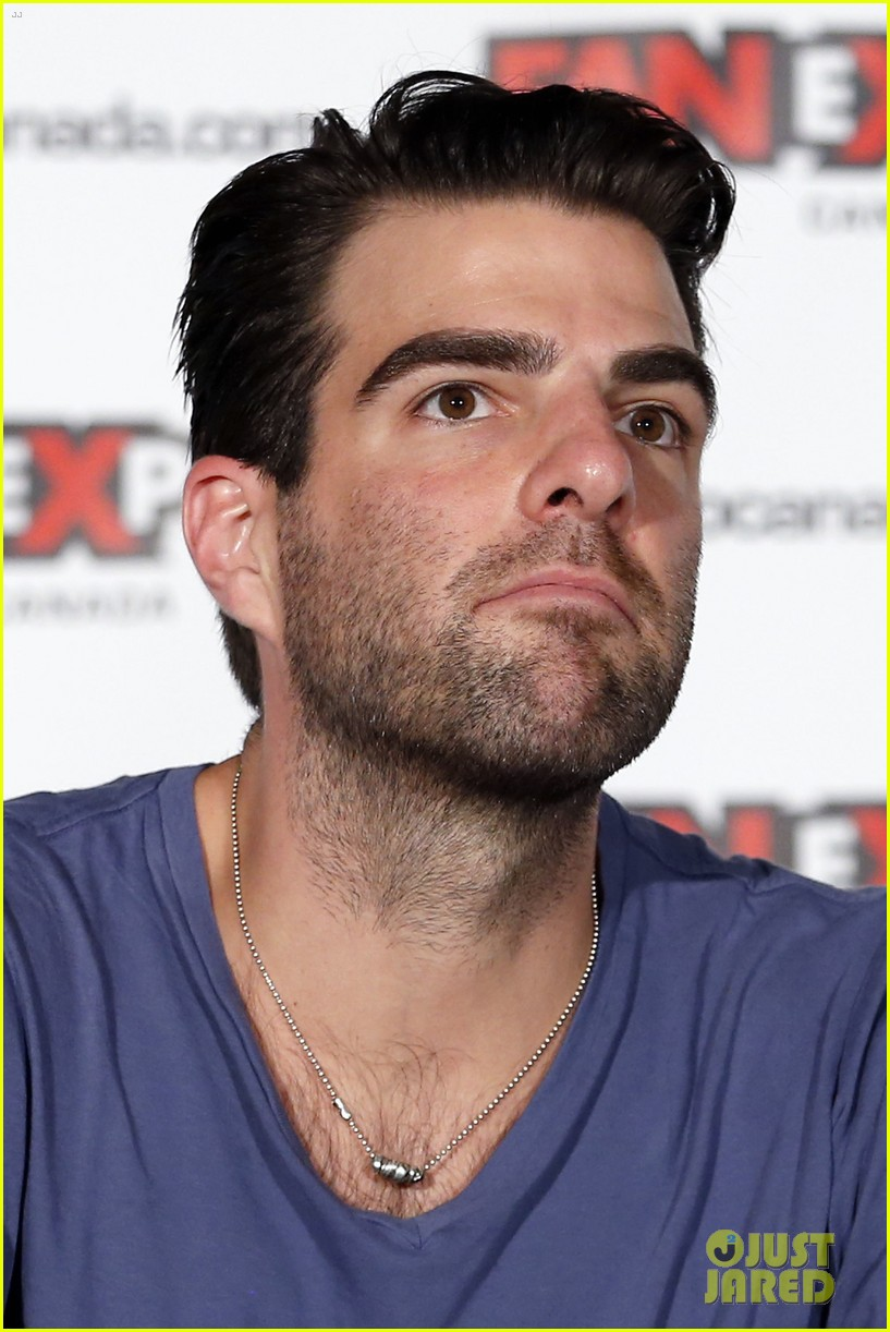 zachary quinto julie benz fan expo canada 152937146