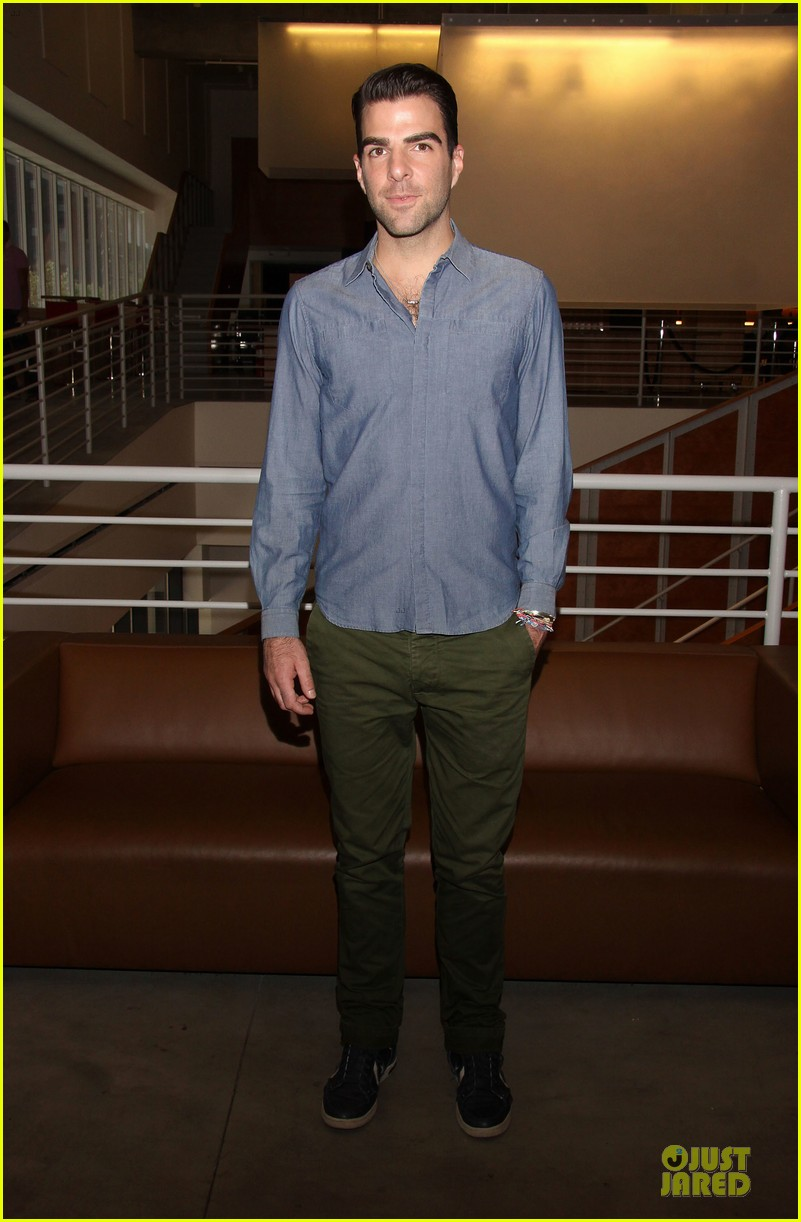 zachary quinto the glass menagerie media day 012934409