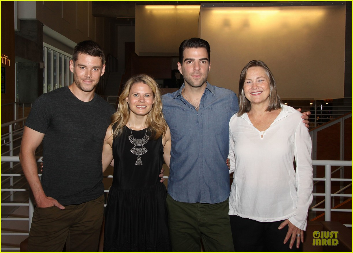 zachary quinto the glass menagerie media day 022934410