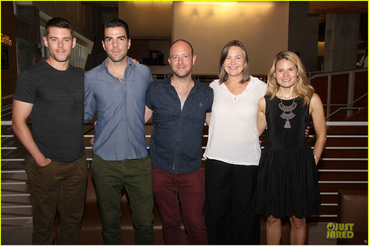 zachary quinto the glass menagerie media day 032934411
