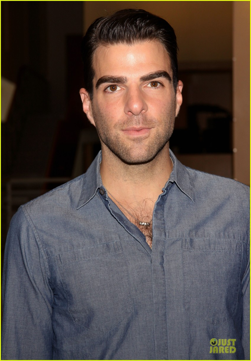 zachary quinto the glass menagerie media day 122934420